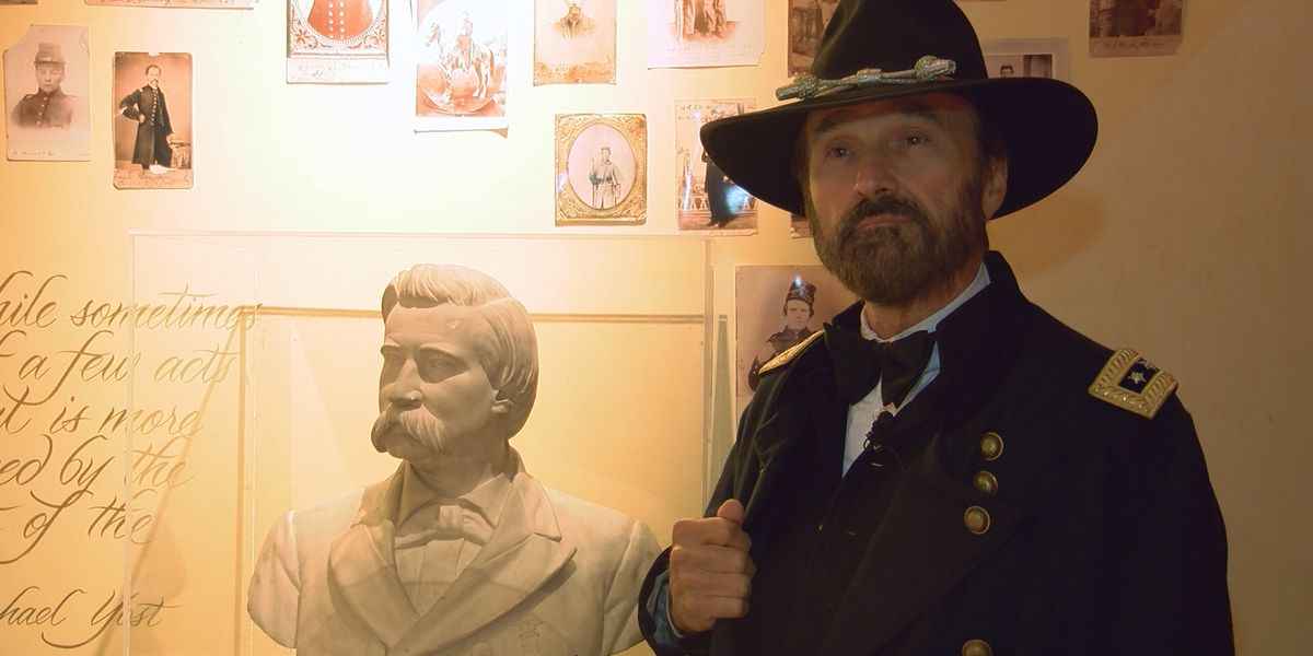 Discovery Channel actor brings U.S. Grant to life at JAL College