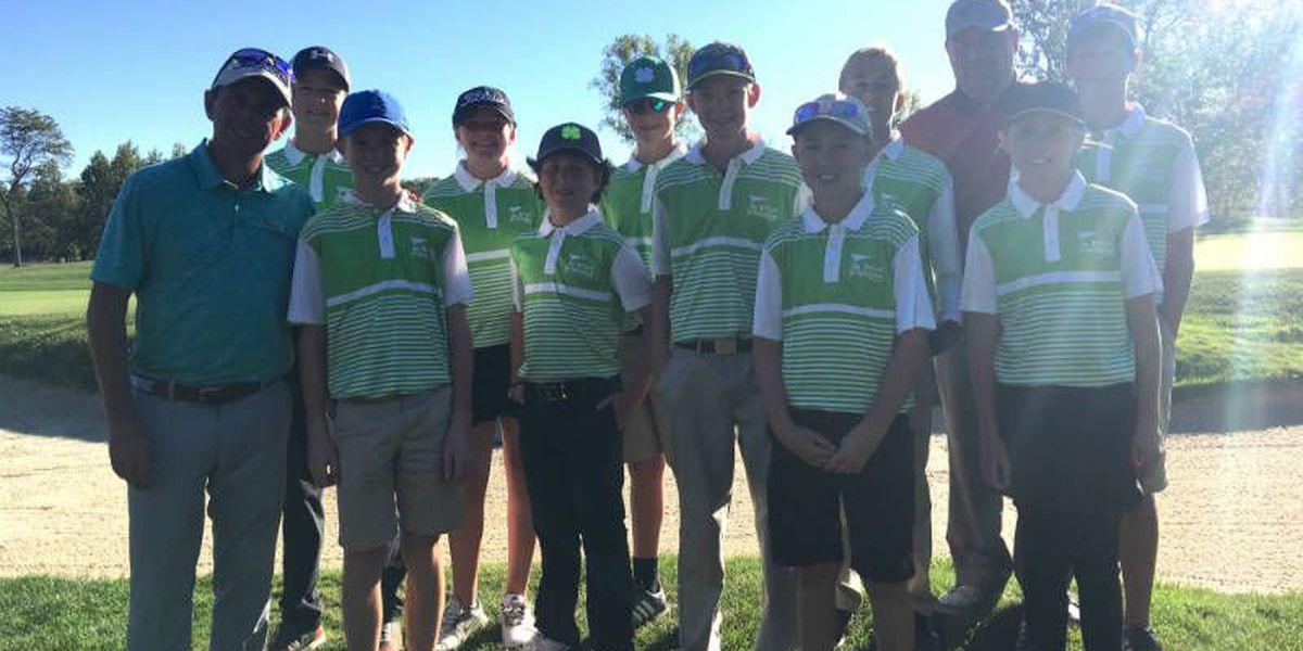 Western Kentucky Junior golf team finished third