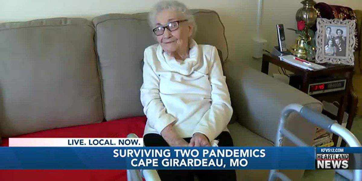 105-year-old Heartland woman survives 2 pandemics