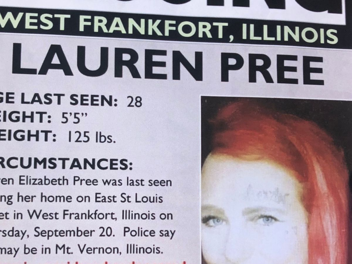 "Missing West Frankfort, Ill. mother last seen ""live"" on social media"