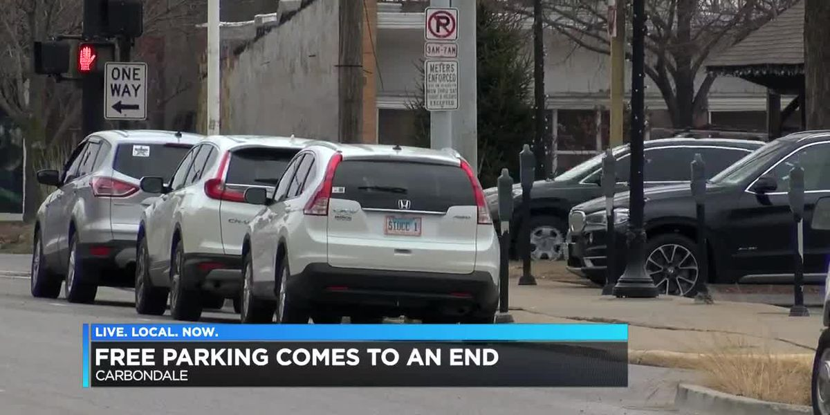 Free parking in Carbondale comes to an end