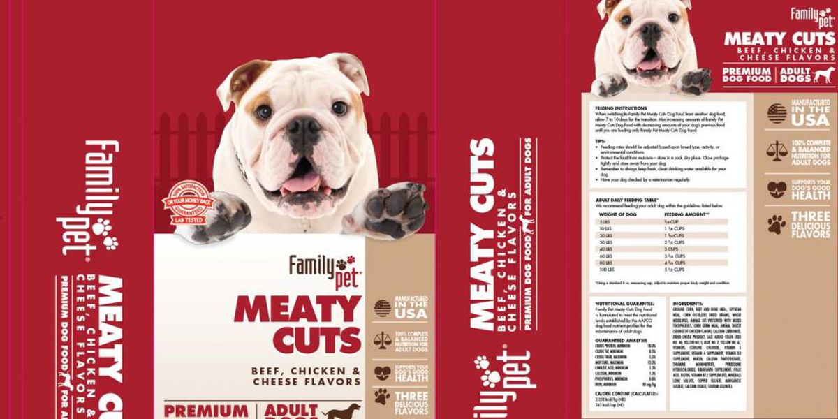 Dog food recall issued over potentially dangerous levels of mold byproduct