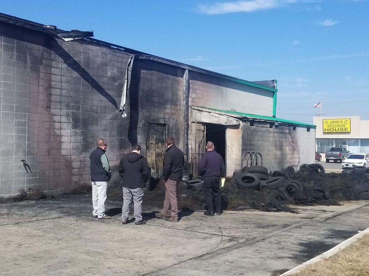 Fire at Kennett Plaza Tire under investigation