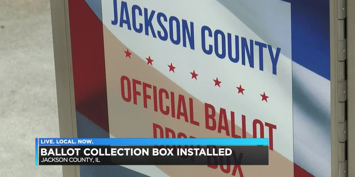 Ballot collection box installed