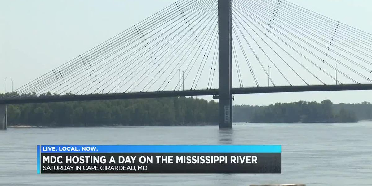 MDC hosting a Day on the Mississippi River