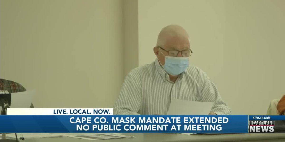 Cape Co. mask mandate meeting