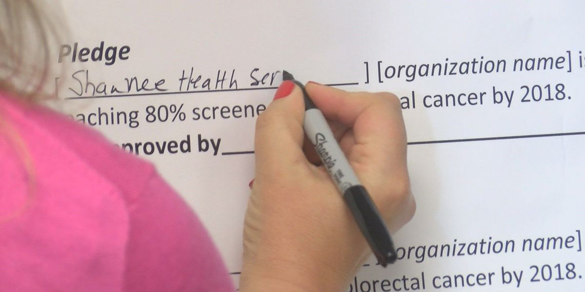 80% by 2018: goal set for colorectal cancer screenings