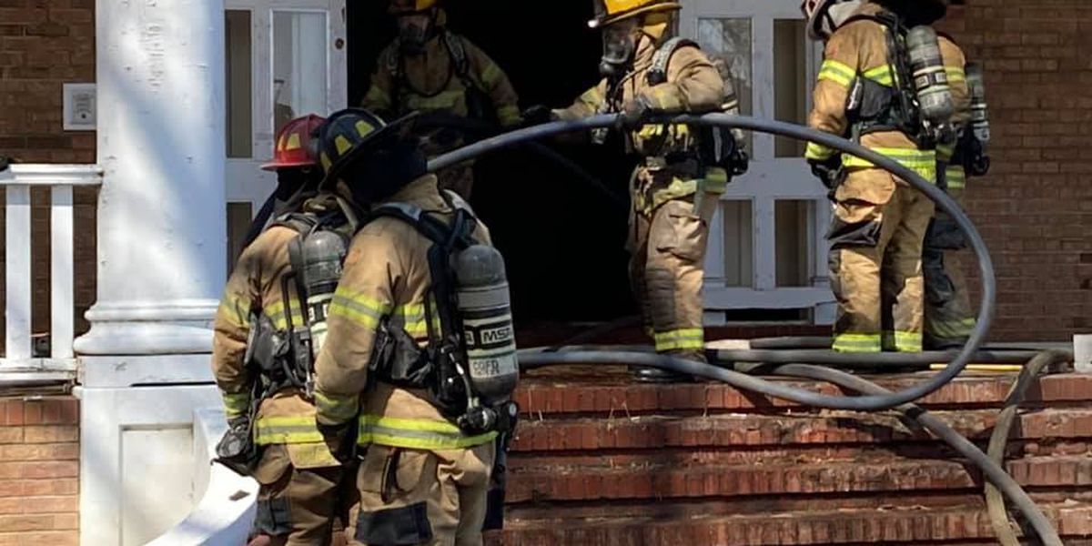 Heartland firefighters train for scenarios using house