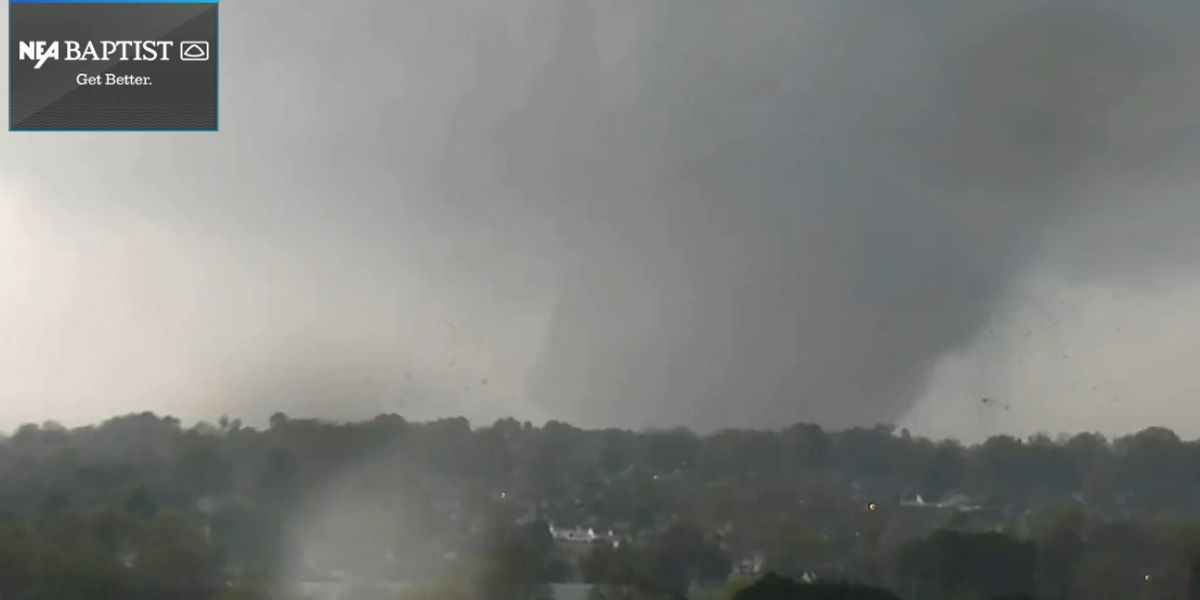 POLICE CHIEF: Minor injuries reported in tornado in Jonesboro, Ark.