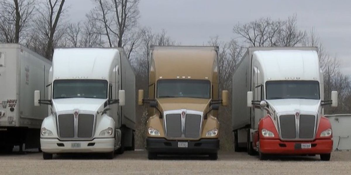 Truck driver shortage leaves companies finding different ways to recruit drivers
