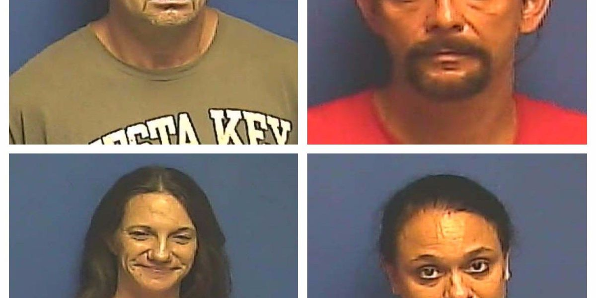 4 people arrested in McCracken Co., KY after search warrant