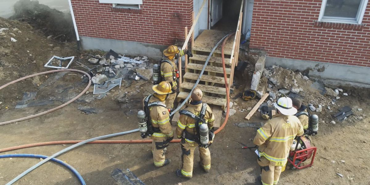 Cape Girardeau Fire Dept. holds live burn exercise
