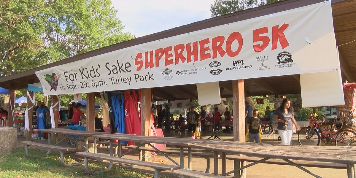 8th year for Superhero 5K in Carbondale, IL