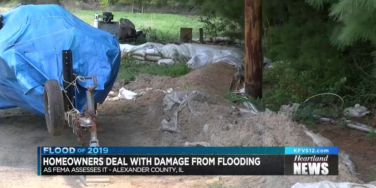 Homeowners deal with damage from flooding