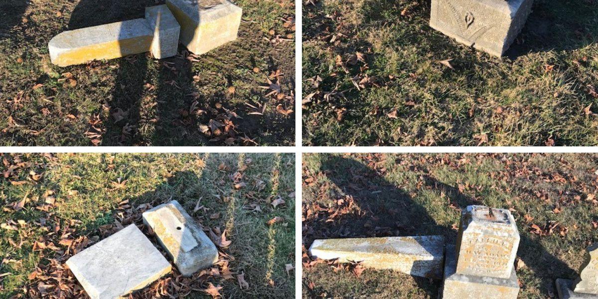 Heartland cemetery victim of vandalism