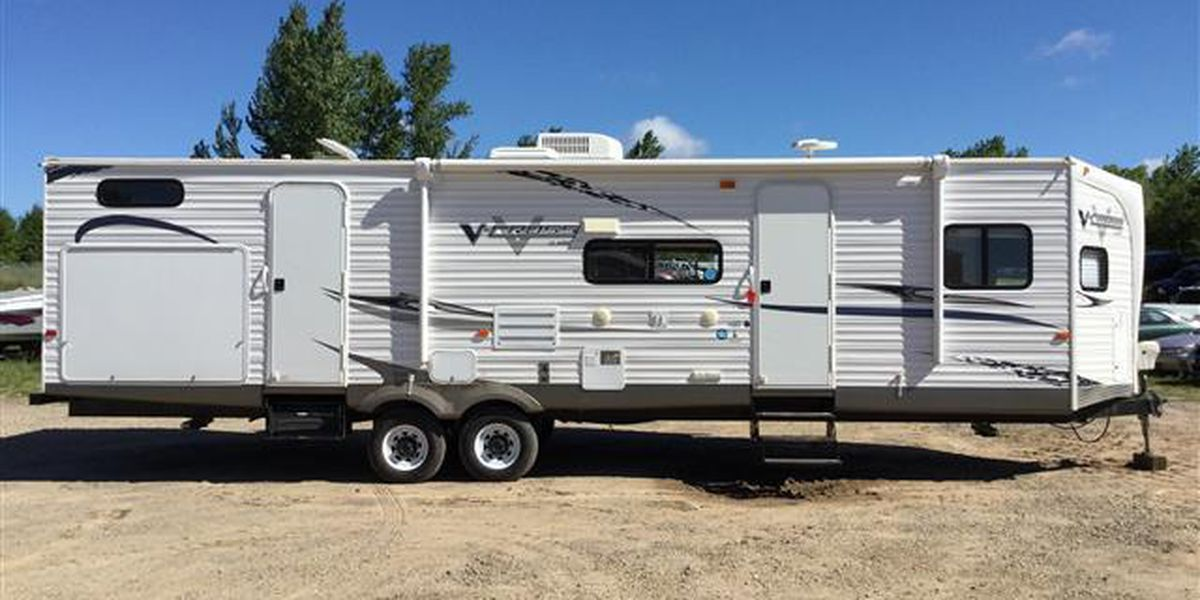 Sheriff asks public to look out for stolen camper