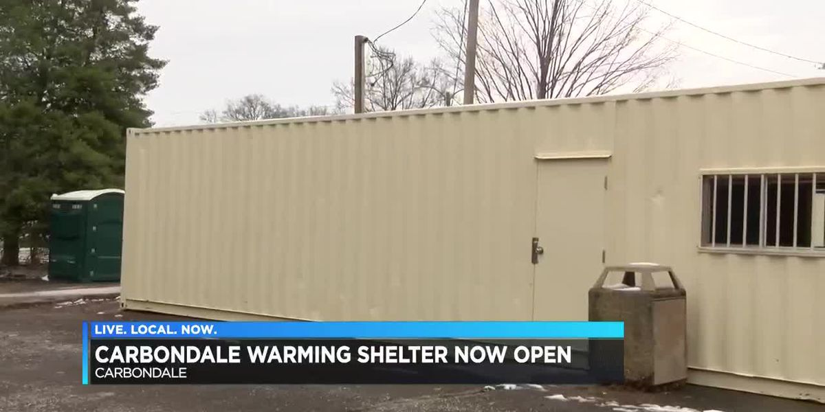 Warming center open in Carbondale, IL