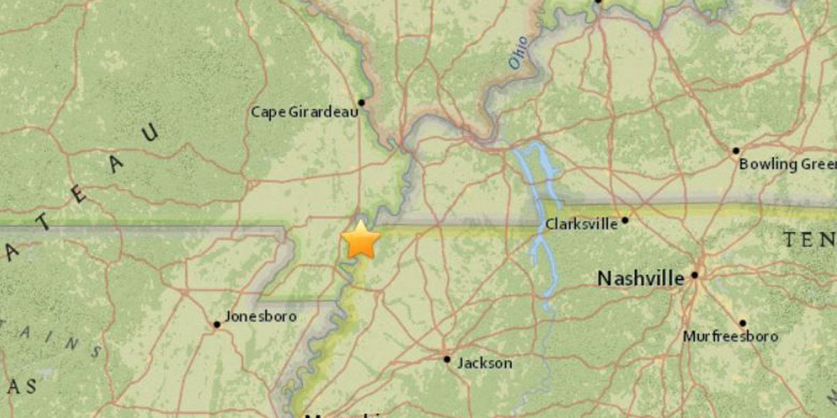 Magnitude 2.9 quake rattles parts of southeast MO