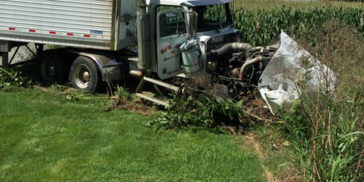 Driver injured after semi crash on State Rte. 94 in Graves Co.
