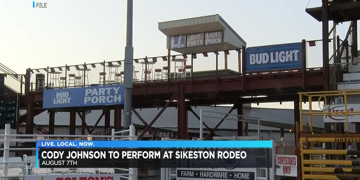 Sikeston Rodeo announces new Friday act