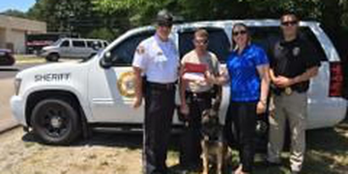 K-9 Unit in Scott Co., MO awarded 2 grants