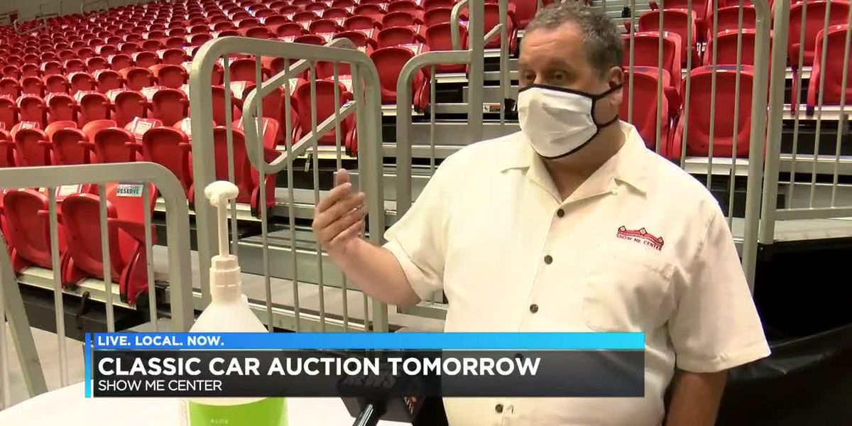 Classic cars to be auctioned off at Show Me Center