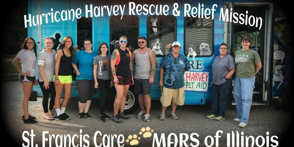 Southern IL animal shelter sending help to Houston