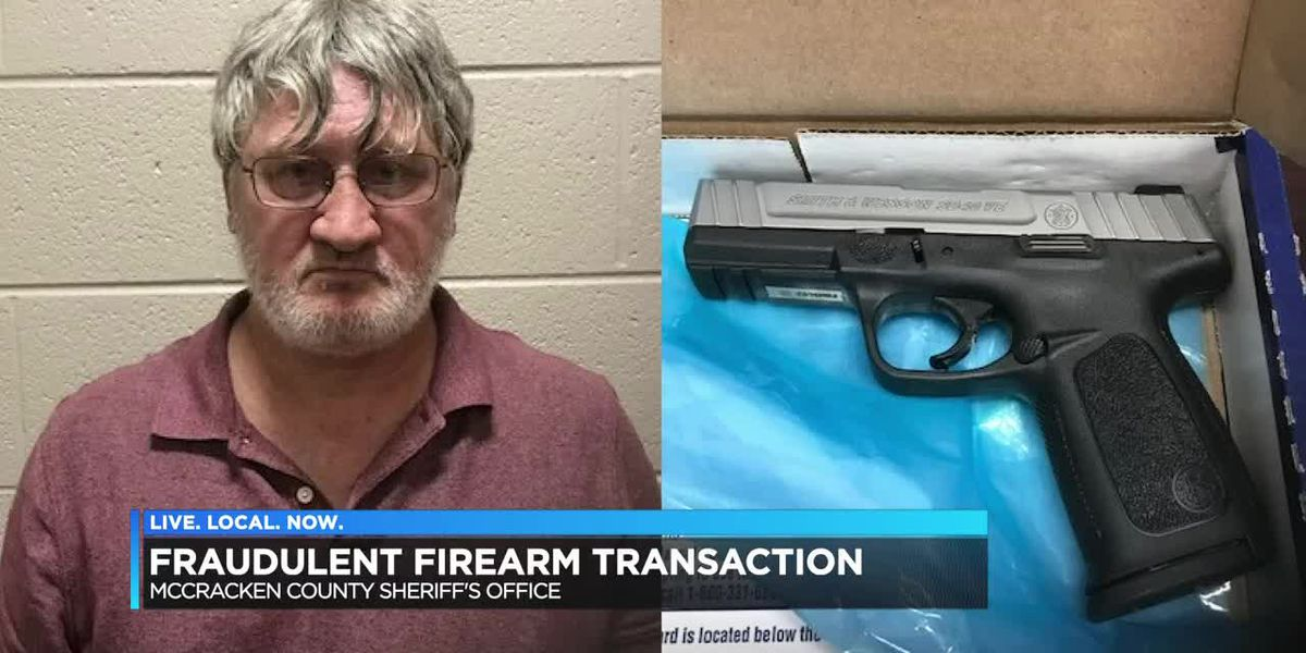 Felon who was gun shopping found with pistol in vehicle