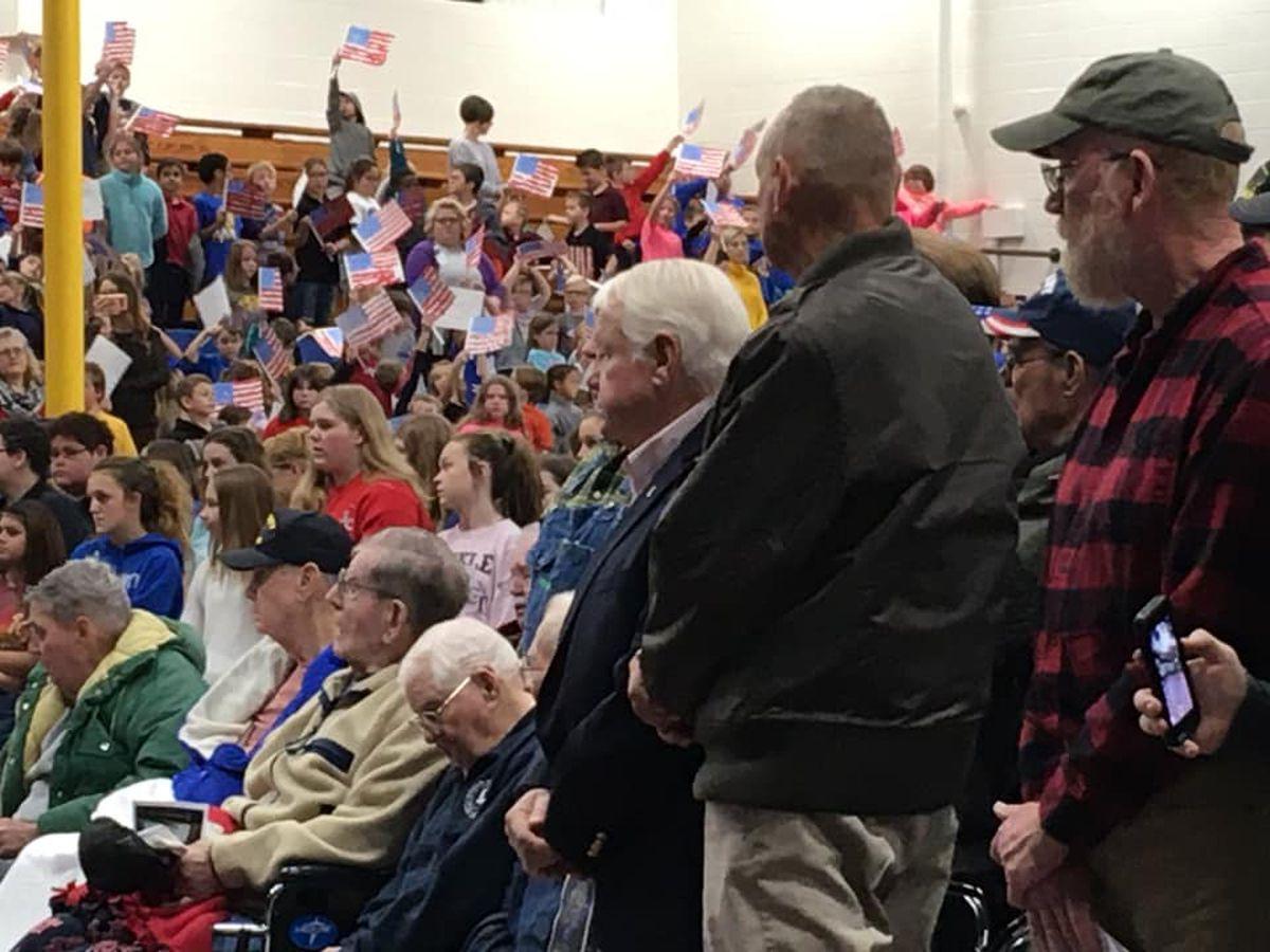 Scott City schools honor veterans with program