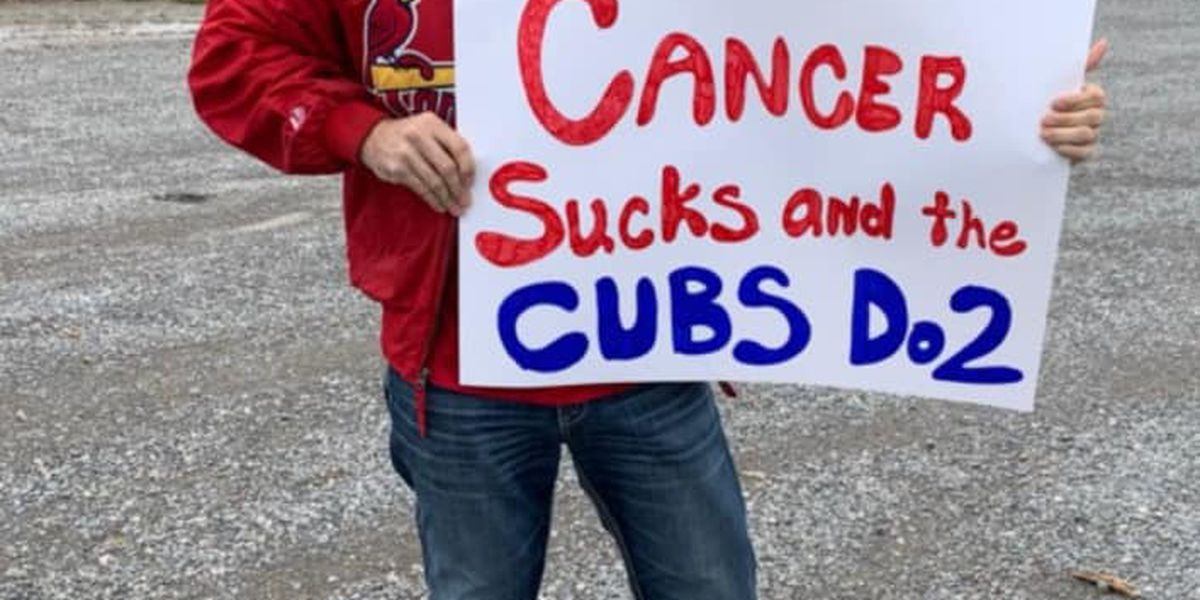 Heartland Cubs fan backs Cardinals to help friend's cancer fight