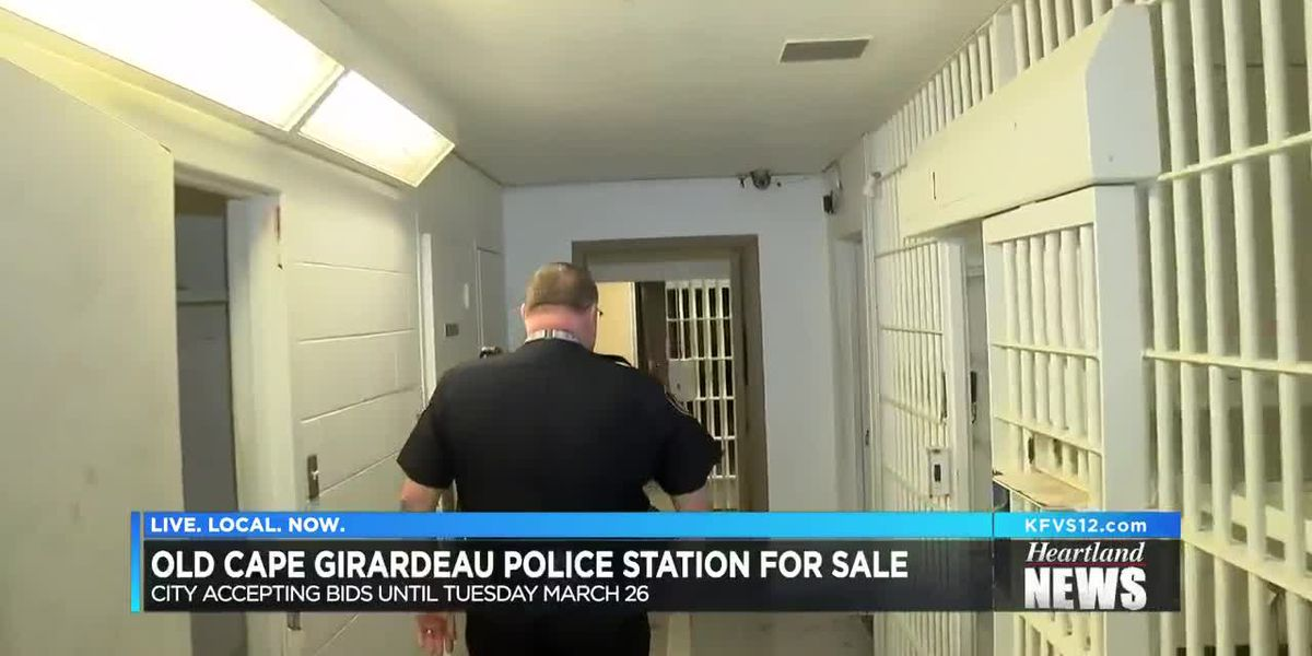 Former Cape Police Department building for sale