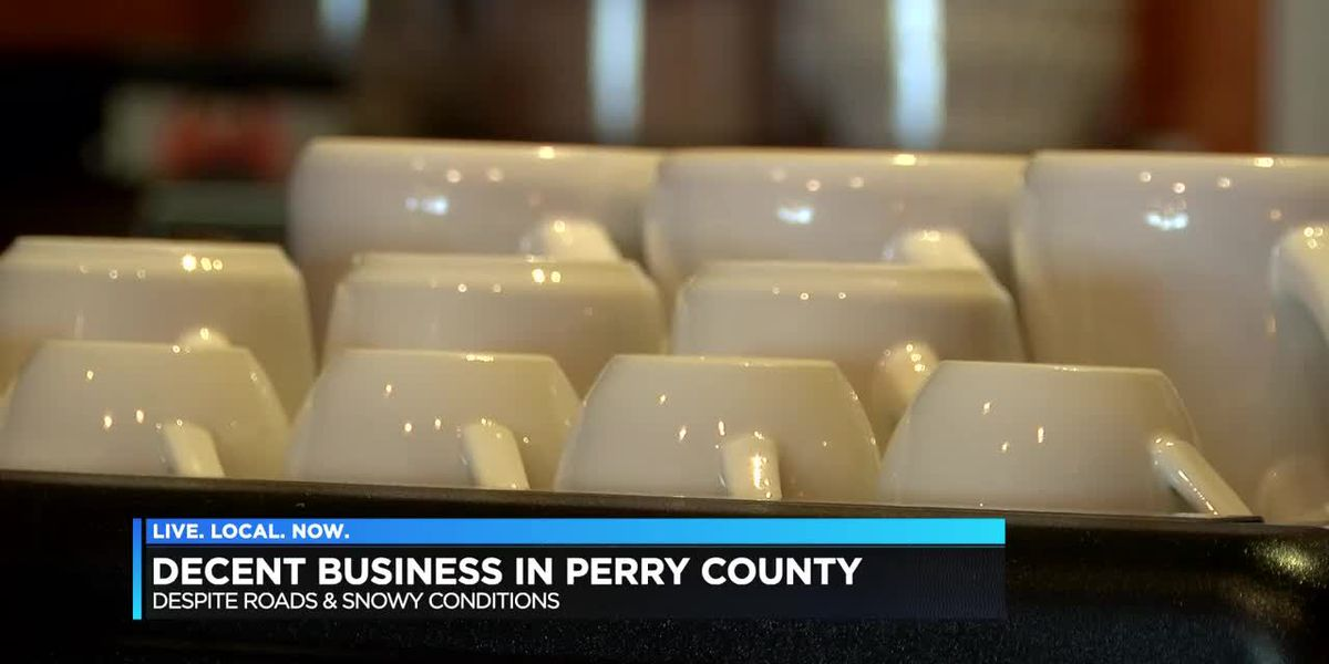Business strong in Perry Co. MO despite snowy roads