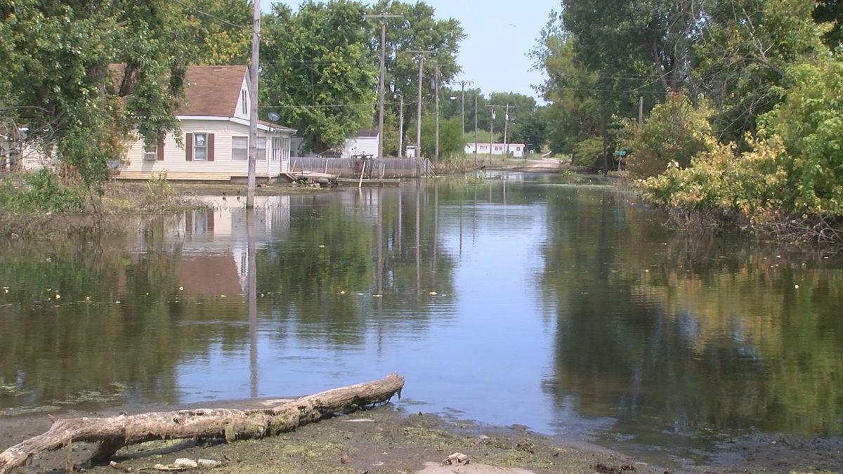 Heartland flooded roads, bridge information