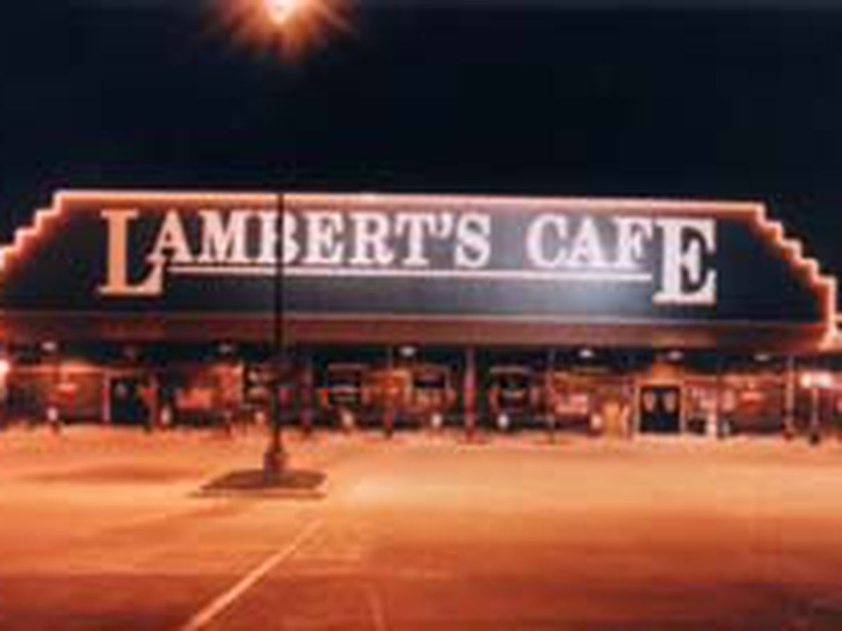 No, Lambert's Cafe isn't closing