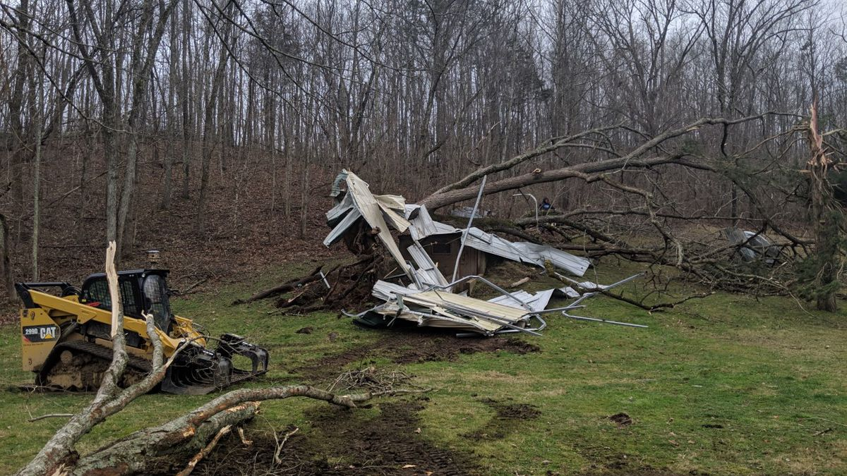 Several Heartland communities report damage after Sunday's storms
