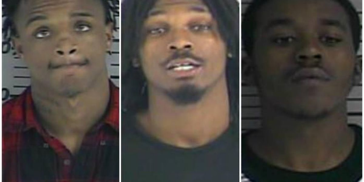 3 arrested in connection with Dyersburg store armed robbery