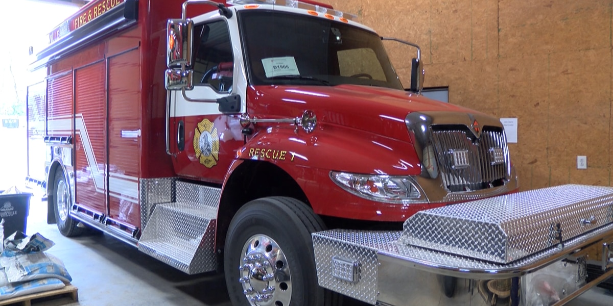 Perryville Fire Dept. purchases new rescue truck