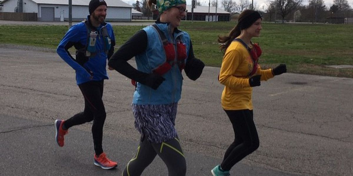 Runners encourage exercise during COVID-19 pandemic