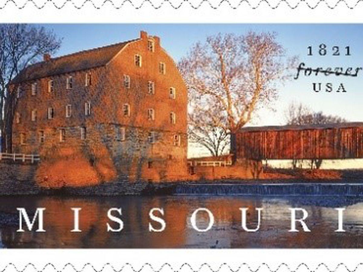 Bollinger Mill featured on new stamp celebrating Missouri's statehood