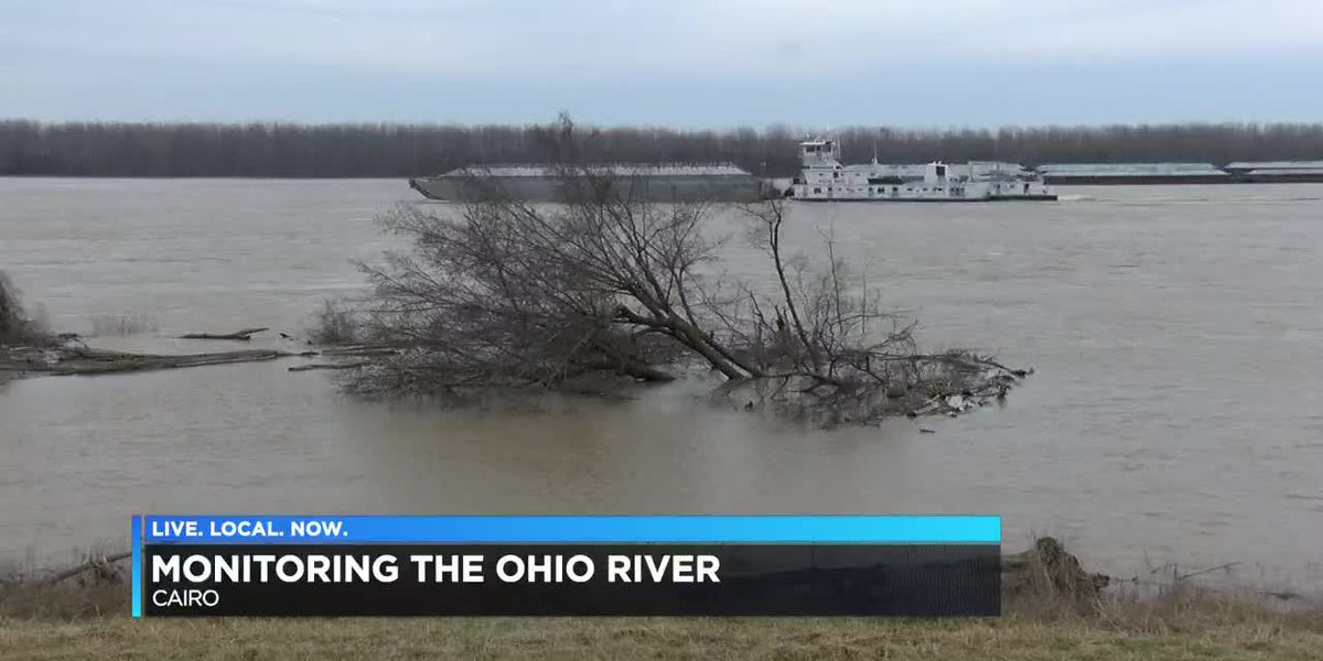 Monitoring the Ohio River over Cairo, IL