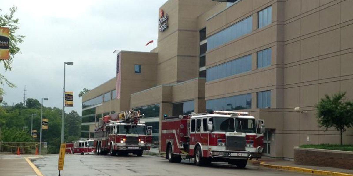 Fire crews respond to smoke inside Southeast Hospital