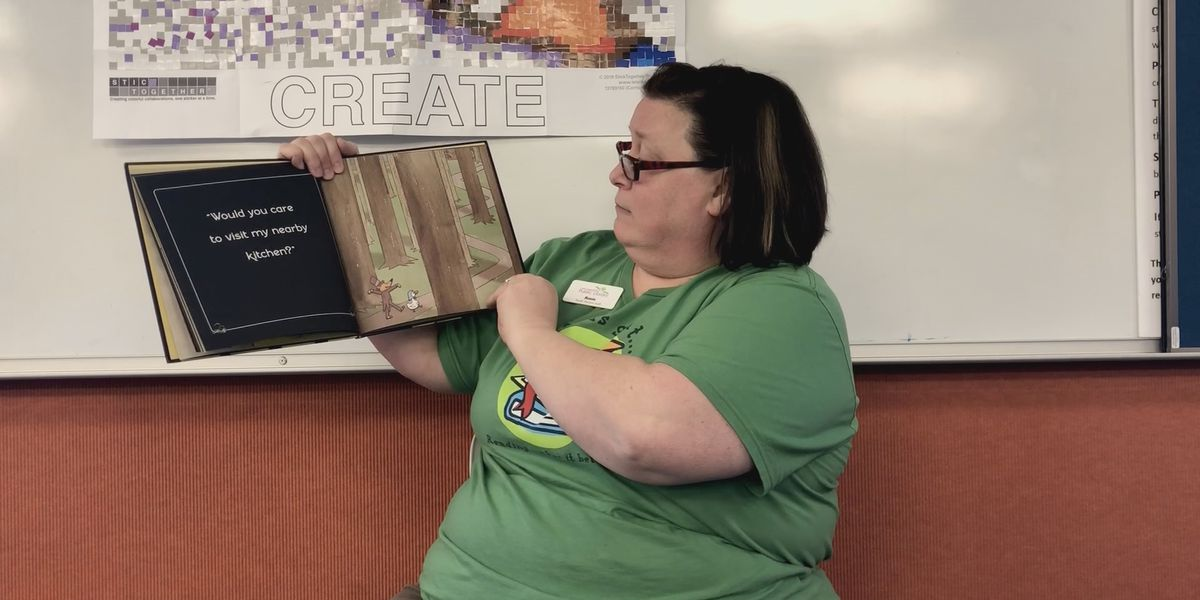 Cape Girardeau library reads to students online