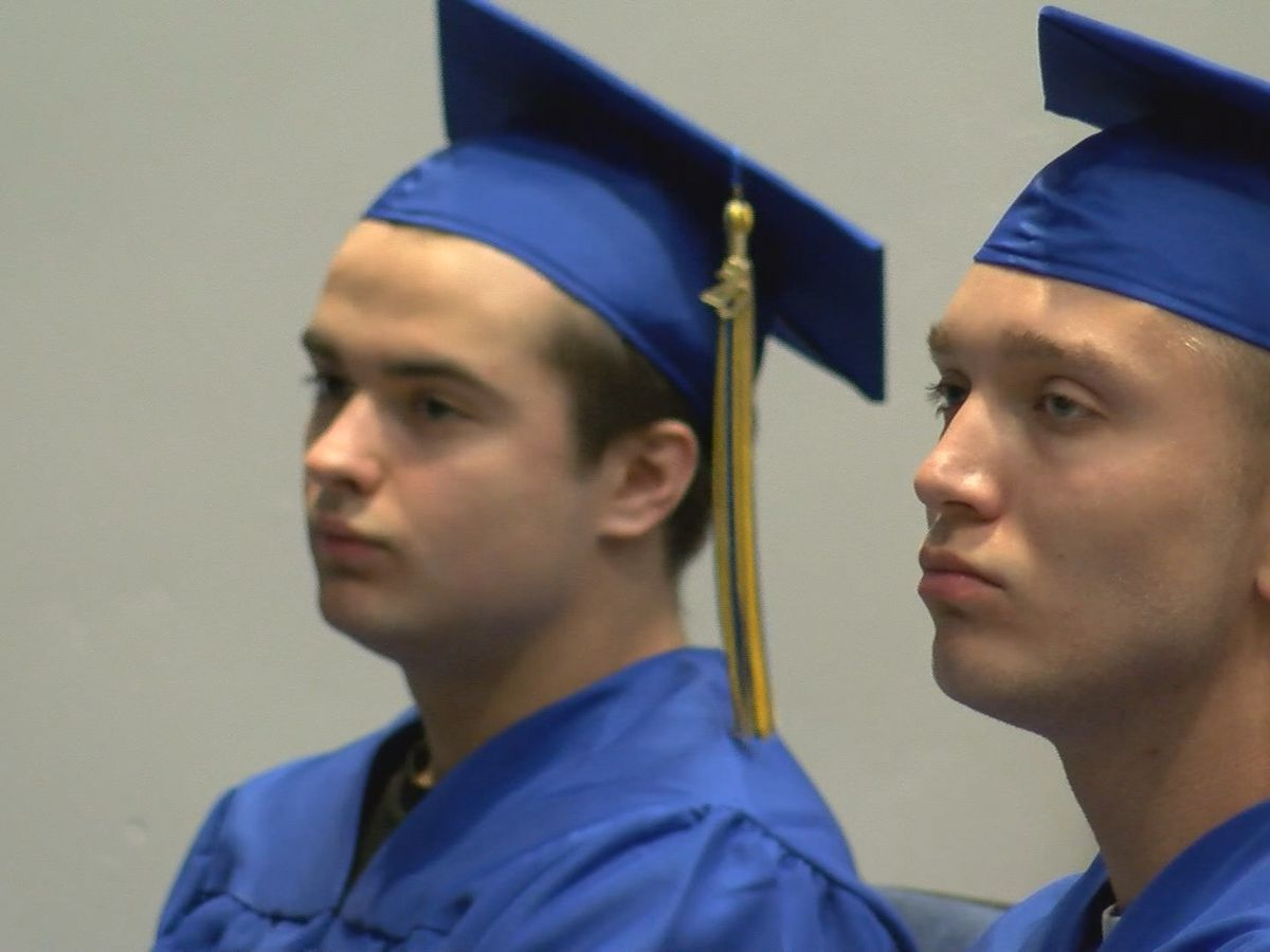 Scott City High School holds special graduation ceremony for 2 seniors