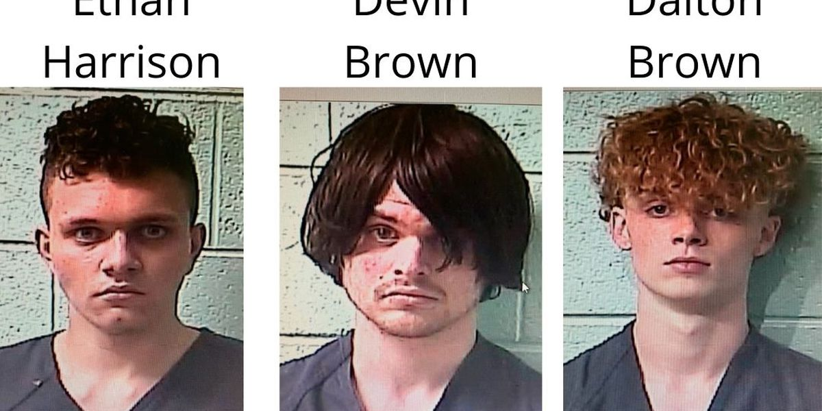 Three arrested after attempted armed robbery turns into Marshall County police pursuit