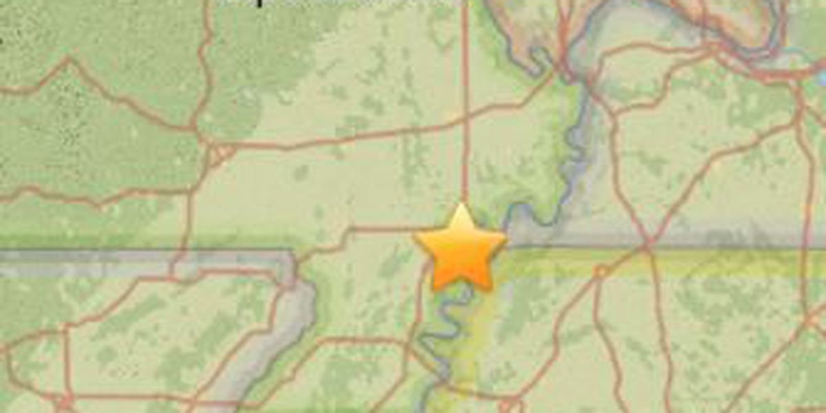 Small earthquake shakes in New Madrid County