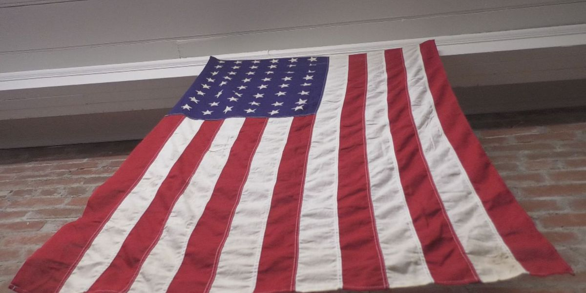 U.S. flag retirement box available in Jackson, Mo.