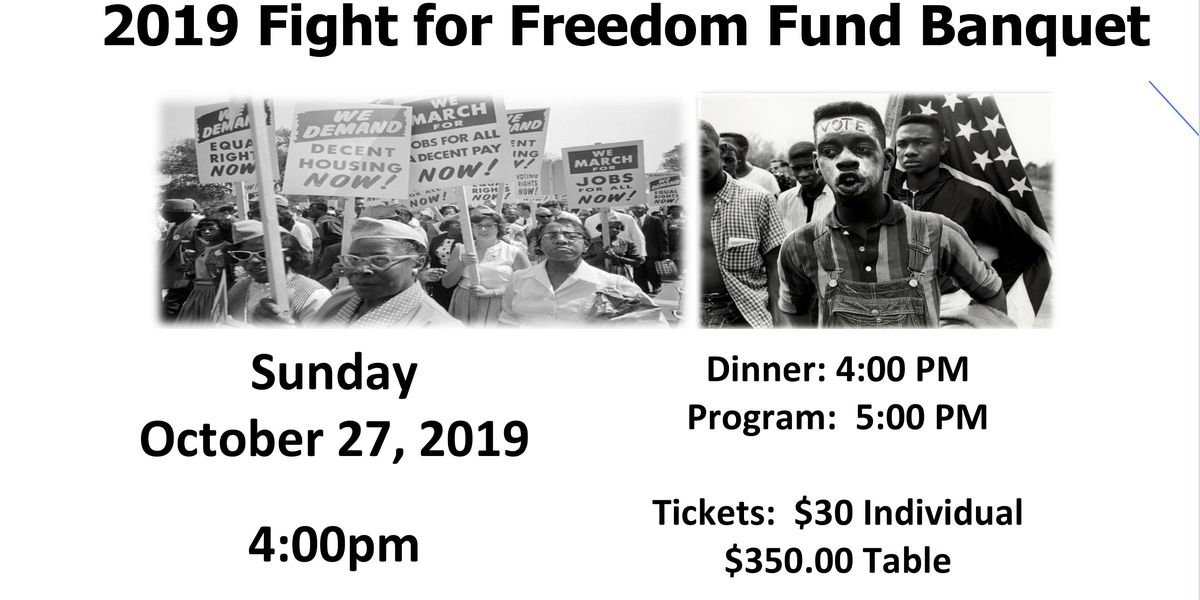 NAACP to hold Carbondale's 42nd annual Freedom Fund Banquet