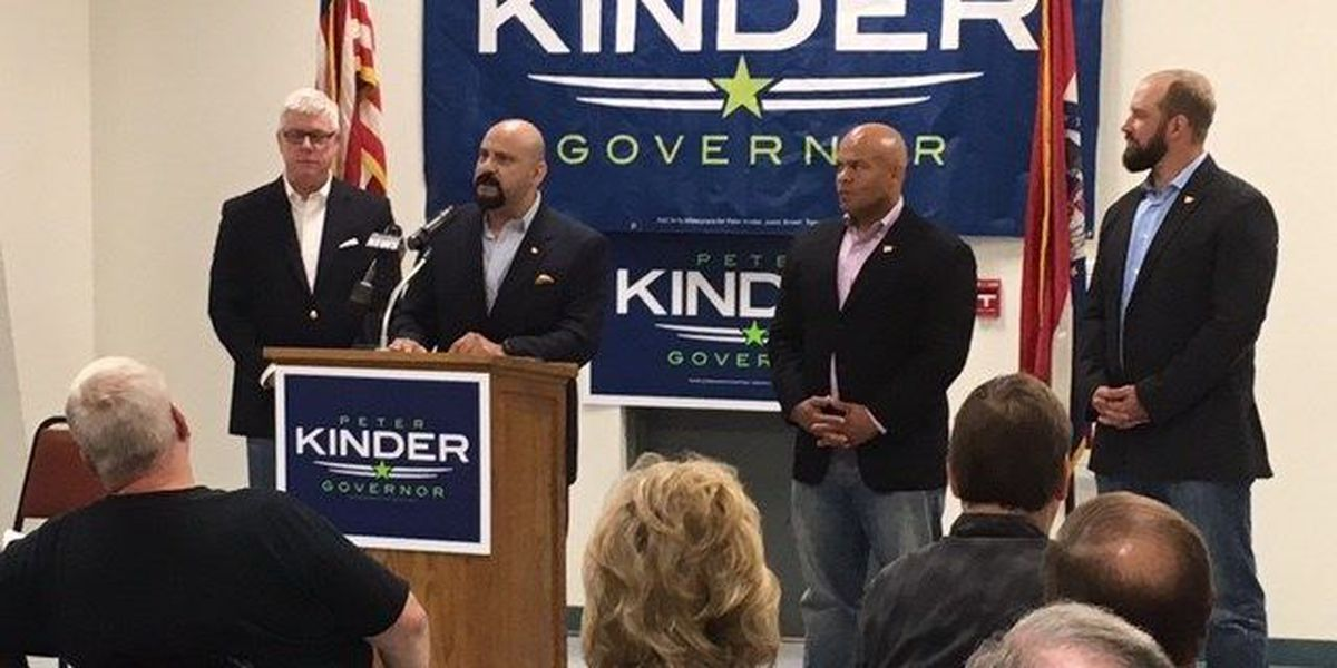 Kinder makes campaign stop in Cape Girardeau