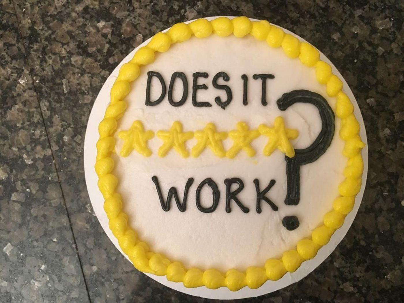does it work betty crocker microwave cake maker