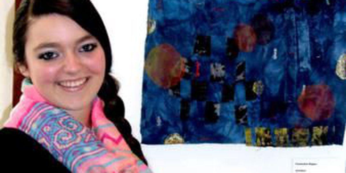 Poplar Bluff students' art on display at museum